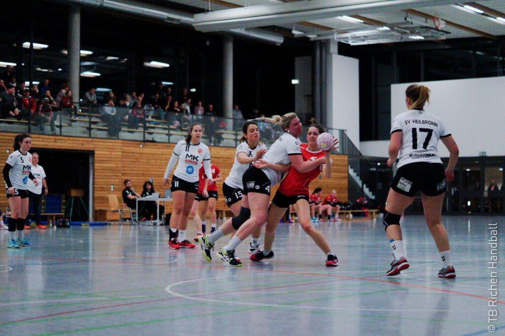 Spiel Damen Heilbronn Bezirksliga TB Richen