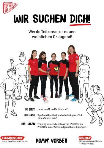 C-Jugend Flyer Jugend